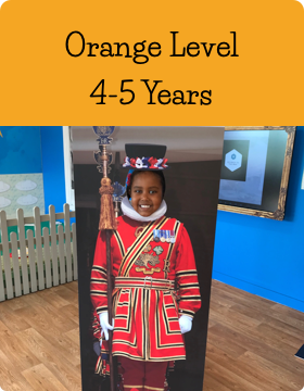 Orange Age Level at Jazzitup Kids English Language Course