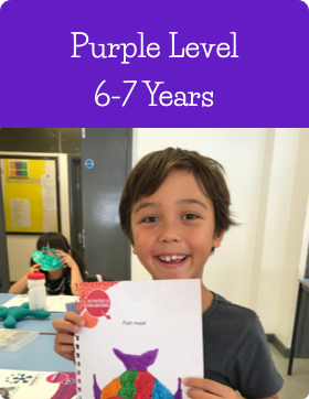 Purple Age Level at Jazzitup Kids English Language Course