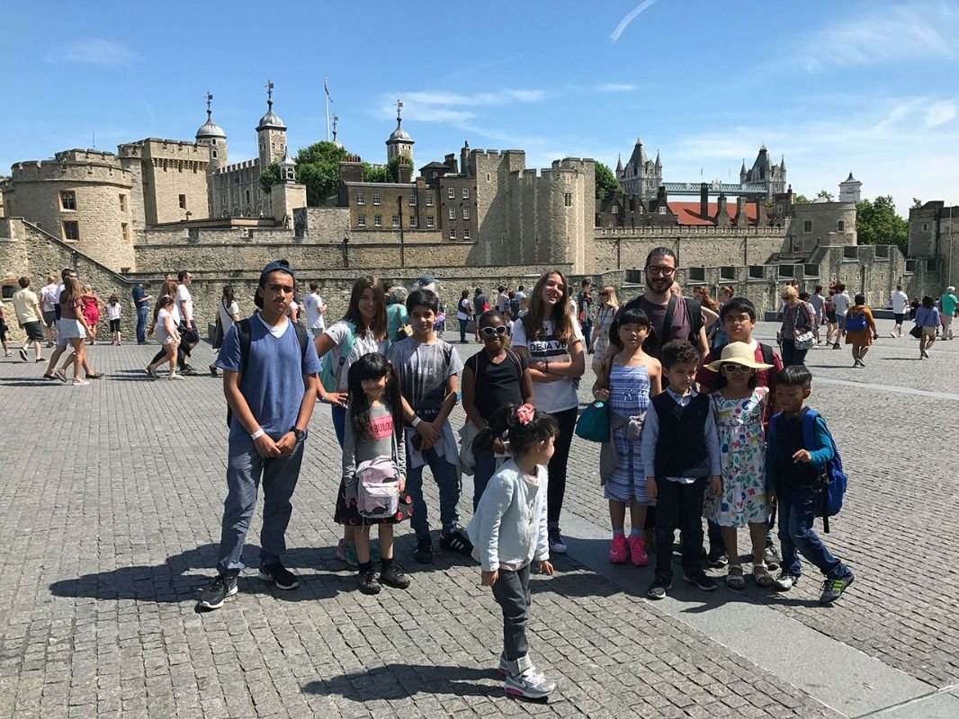 Jazzitup Kids Language Course at the Tower of London