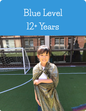 Blue Age Level at Jazzitup Kids English Language Course