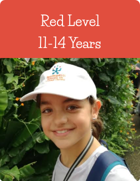Red Age Level at Jazzitup Kids English Language Course